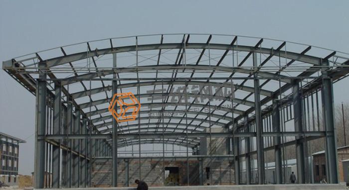 鲁南装备刮板机制造部轻钢厂房