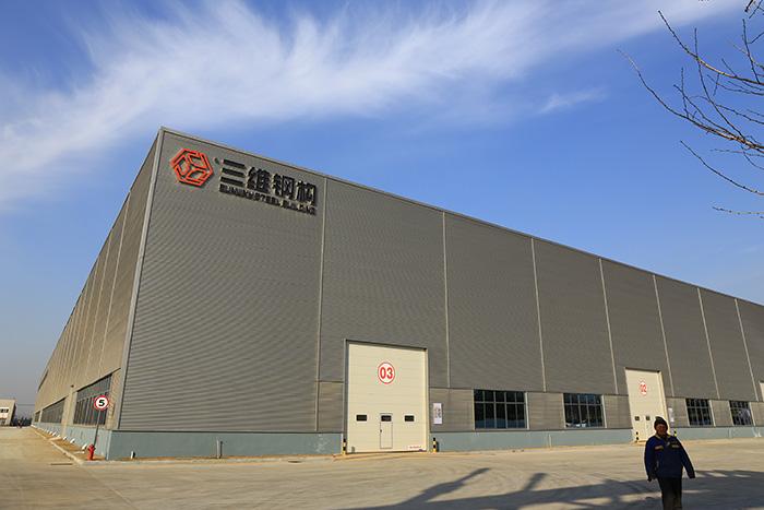 三维钢构新厂房