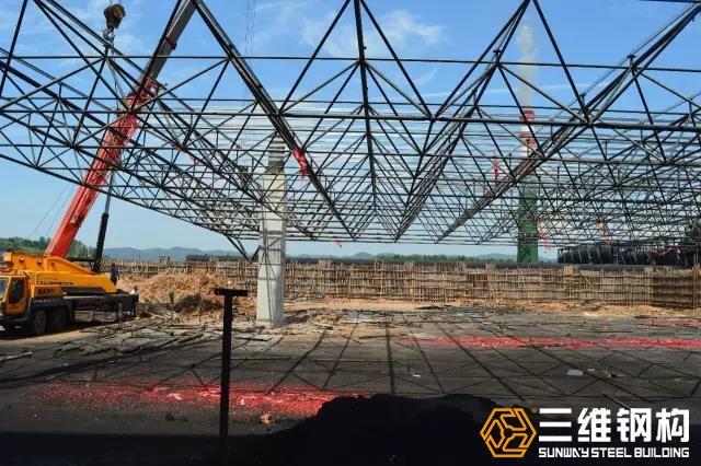 网架结构特性,分类,安装方法._山东三维钢结构股份