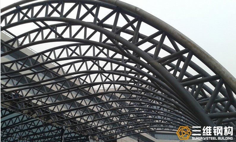 网架结构加工管桁架加工