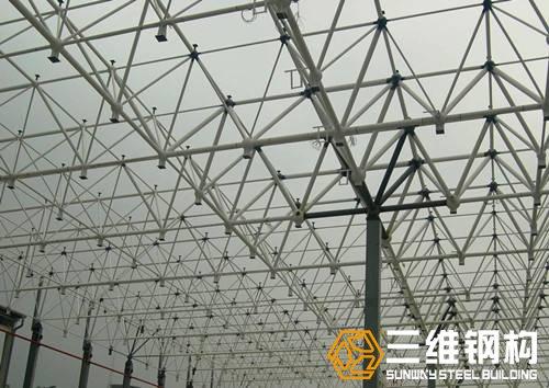 钢结构网架工程设计,网架工程计算-三维钢构