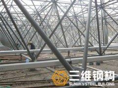 焊接球网架结构地面安装