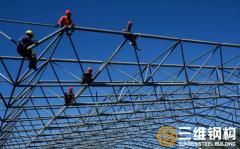 网架结构高空散装如何做