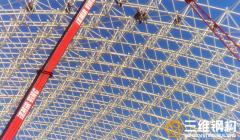 网架结构的施工工艺的选